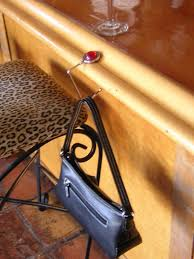 purse hook for table je marie pursehook fumi really awesome stuff