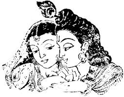free coloring pages krishna radha clip art library