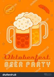 pretzel delivery retro logo oktoberfest party on stock vector 474361864