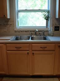 tile idea backsplash ideas with white cabinets and dark