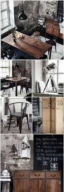 Woods Vintage Home Interiors Black And Wood Exude A Strong Vintage Vibe Decor Pinterest