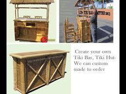 a bar hut tiki hut bar tiki kit tropical bar hut bamboo poles