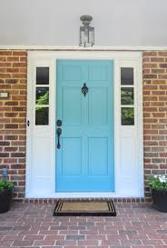 door house how to pick a color and paint your front door young house love