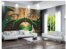 cheap fairy murals wallpaper free shipping fairy murals custom any size european aesthetic fantasy fairy tale tv wall mural 3d wallpaper