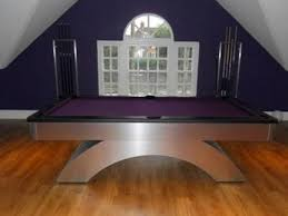 what are pool tables made of the olhausen waterfall contemporary pool table made in the usa