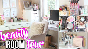 dining room to beauty room beauty room tour 2017 makeup storage