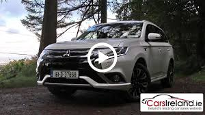 mitsubishi outlander phev video review carsireland ie