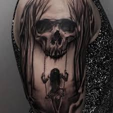 skull half sleeve tattoos best 25 half skull ideas on 30 best