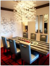dining room chandeliers modern tanzania fused glass dining room