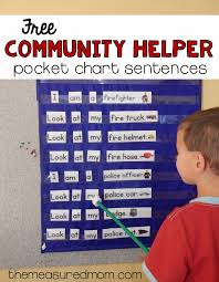 free community helpers activity for beginning readers the