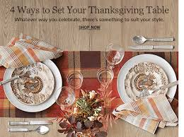 all thanksgiving decor pottery barn