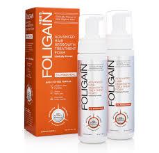 foligain f5 minoxidil foam for men 5 6 month supply