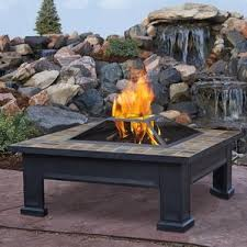 Fire And Ice Backsplash - fire pit tables