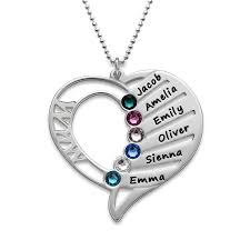 engrave a necklace engraved heart necklace forevermom
