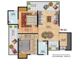 Unit Floor Plans Designs Antriksh Golf City Noida Antriksh Golf City Noida Floor Plan