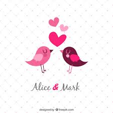 wedding invitations freepik template wedding invitation with birds vector free