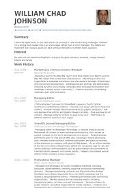 Activity Director Resume Samples by Marketing U0026 Communications Manager Resume Samples Visualcv