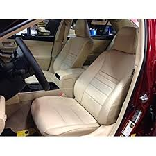 seat covers for toyota camry 2014 amazon com 2012 2015 toyota camry genuine leather seats cover