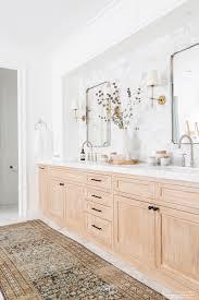 Bathroom Wooden Stool Bathroom Decor Warm Wood Accents 24 East