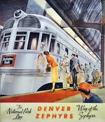 California Zephyr Route Map by The Denver Zephyr