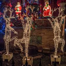 Christmas Yard Decorations Ferris Wheel by Photos Logan Square U0027s Dazzling Christmas Light House Has A