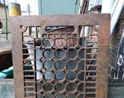 cast iron grate etsy