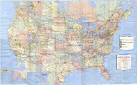 United States Road Trip Map by Trevor Travel