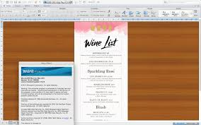Home Design 9app Design U0026 Templates Menu Templates Wedding Menu Food Menu Bar