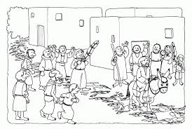 palm sunday coloring pages background coloring palm sunday