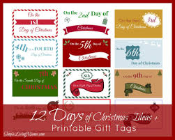 12 days of christmas gifts for friends part 36 christmas label