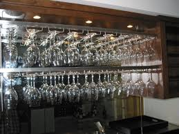 furniture very awesome wine glass rack design make your home
