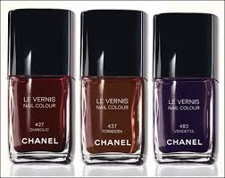 chanel noirs obscurs makeup collection for winter 2009 beauty
