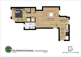 Virtual Floor Plans by Ashland Commons Floor Plans Becovic Management Group Of Illinois