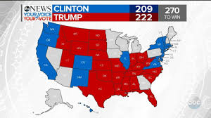 Map Of Election Results by Trump Wins Florida Clinton Wins Washington 2016 Election