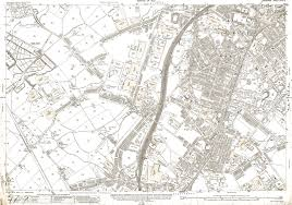 map of oldham an map of the oldham butler green area lancashire in 1922 as