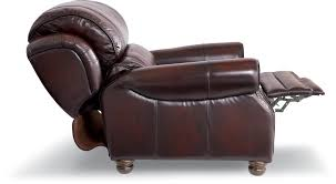 Leather Lazy Boy Recliner Traditional High Leg Leather Recliner By La Z Boy Wolf And