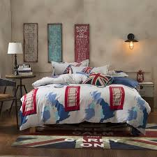 Notre Dame Bedding Sets New British Style Bed Cover Sets Uk Usa Flag Queen Full Twin Size