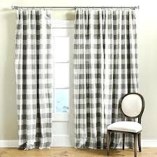Grey Plaid Curtains Grey Plaid Curtains Cosy Check Eyelet Lined Curtains Black And
