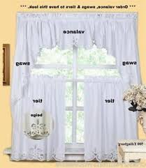 Kitchen Curtains Sets Modern Kitchen Curtains And Valances Curtain Sets Swag Style For