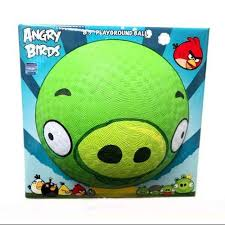 angry birds pig rubber playground ball walmart