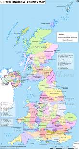 Map Of The British Isles Uk Counties Map Counties In United Kingdom