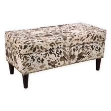 Skyline Furniture Upholstered Storage Bench Buy Pillow Storage Bench From Bed Bath U0026 Beyond