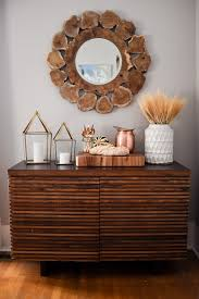 thanksgiving entertaining festive sideboard decorating ideas crate and barrel blog