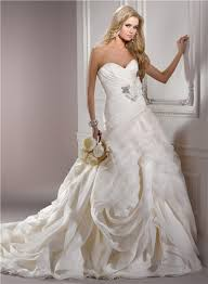 structured wedding dress gown sweetheart structured ivory organza couture wedding