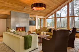 Concrete Fireplace Designs Highlighted In WellDesigned Living - Well designed living rooms