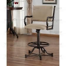 Bar Stool With Arms Tempo Furniture Bullseye Swivel Tilt Bar Stool With Arms