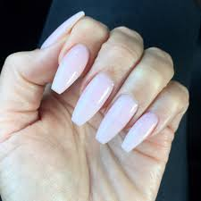 obsessed with this gel color dnd 497 baby pink nails by brian