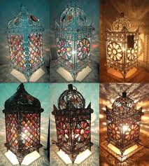 different types of moroccan table lamp modern wall sconces and