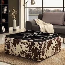 rustic storage ottoman ideas u2013 into the glass