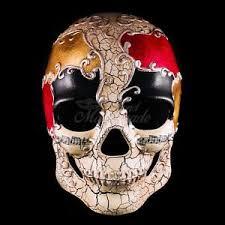 mardi gras skull mask dia de los muertos mask ebay